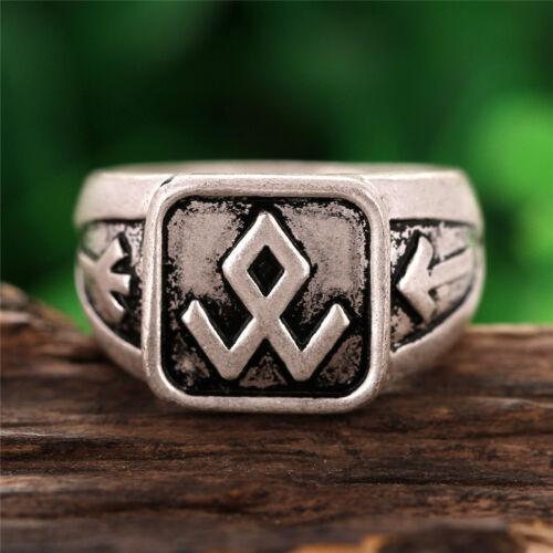 Valknut Norse Symbol Viking Power of Three Rune Rings silver ring Punk Gothic