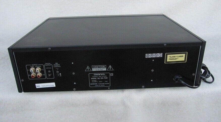 CD afspiller, Onkyo, DX-706