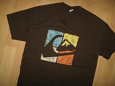 Quiksilver Tee - Surf Snowboard Skate Skateboard Wave & Mountain Beach T Shirt S