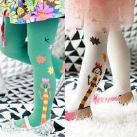 Baby Toddler Kids Girls Soft Warm Tights Pantyhose Pants Long Socks Hosiery 1-7Y