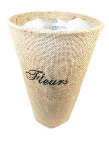 "3899 30cm Bloomsbury /""Fleurs/"" Zinc Flower Vase"