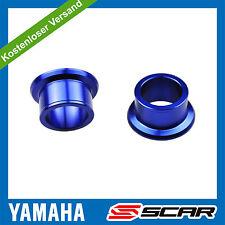 Rad Distanzhülsen HINTEN YAMAHA YZ-F YZF 250 450 YZ250F YZ450F BLAU SCAR
