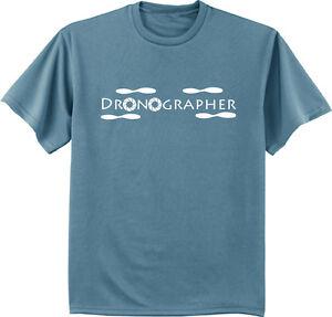 9db93953 Image is loading Dronographer-uav-drone-t-shirt-funny-drone-enthusiast-