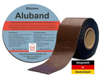 Sonstige Breite 50 Mm Braun Reich An Poetischer Und Bildlicher Pracht Heimwerker Vereinigt Bitumenband Aluband Dichtband
