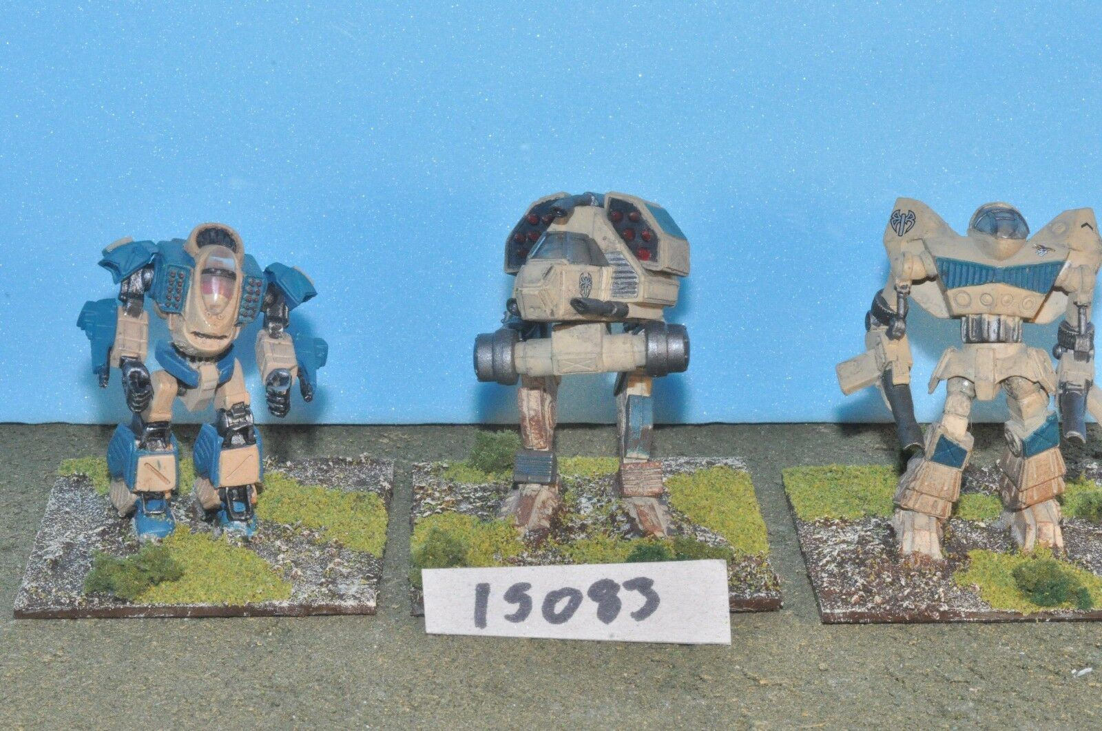 Mechwarrior battletech 3 battle mechs (15083) FASA