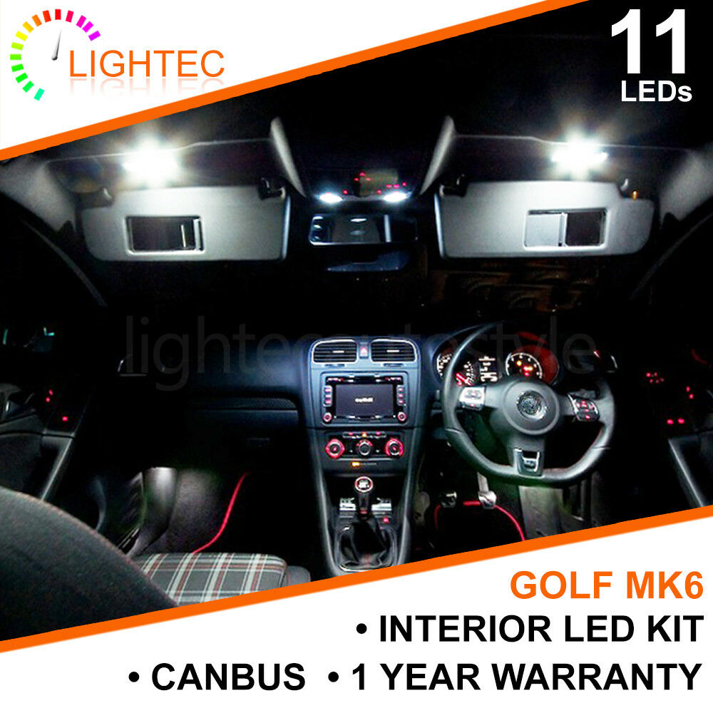 Top LED Blue Led Footwell//Interior Strip Lighting 2X40Cm Strips