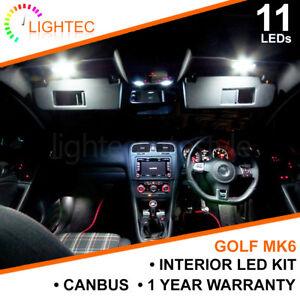 VW-GOLF-MK6-INTERIOR-LIGHTING-UPGRADE-KIT-XENON-WHITE-LED-BULB-SET-PUDDLE-MIRROR