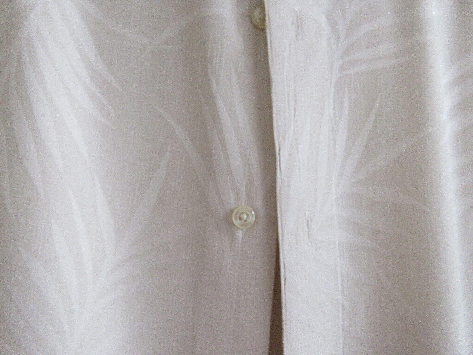 Claiborne , 100% Silk , Size XL , Men's Short Sleeve Sh