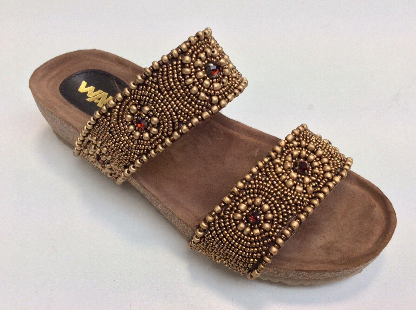 Schuhe Melluso K80052 col multi Braun Sandaleeo vera pelle comodo