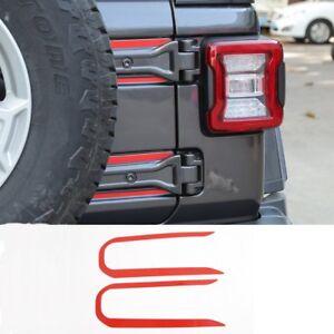 Bestmotoring For Jeep Wrangler Gas Tank Cap Fuel Filler Door Cover For Jeep Wrangler 2007-2017 Model 5 1pcs