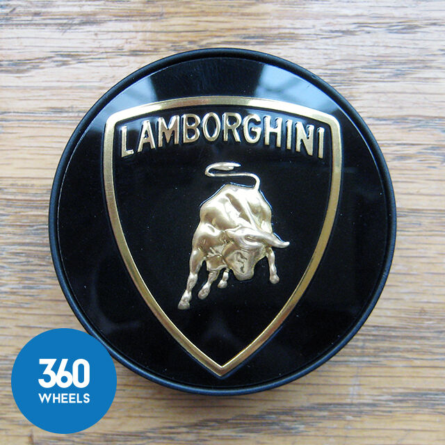 1 X Genuine Lamborghini Centre Cap Hub Badges Aventador Huracan