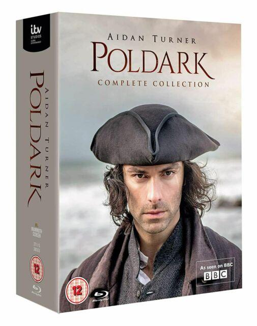 NEW Poldark Complete Series - Season 1-5 DVD Full 1 2 3 4 5