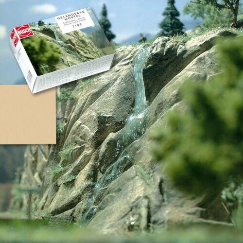 Brun sableux 1000 g Busch 7193 Geländebau Mortier 8,49 €//kg Mortier