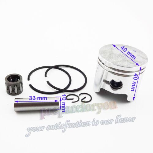 40mm cylindre 10mm piston kit 2 temps moteur 47cc mini atv pocket dirt bike