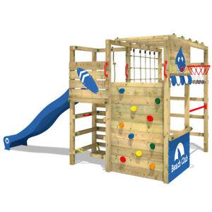 WICKEY-Klettergeruest-Spielturm-Kletterturm-Smart-Tactic-mit-Wellenrutsche