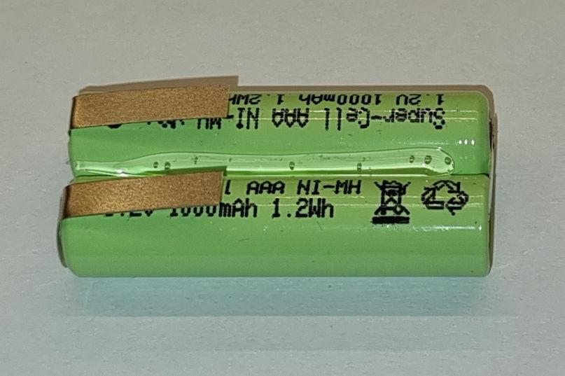 Akku für Philips Bodygroom Plus 3000 BG2026 32 Bartschneider 1000mAh Saustark