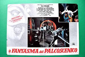 T04 Fotobusta Die Gespenst Der Bühne Brian De Palma George Memmoli Harper