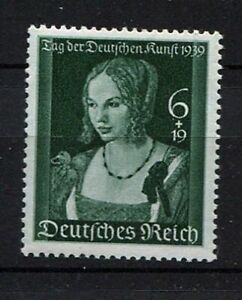 German-Reich-WW-II-German-Art-Day-stamp-from-1939-mint-NH