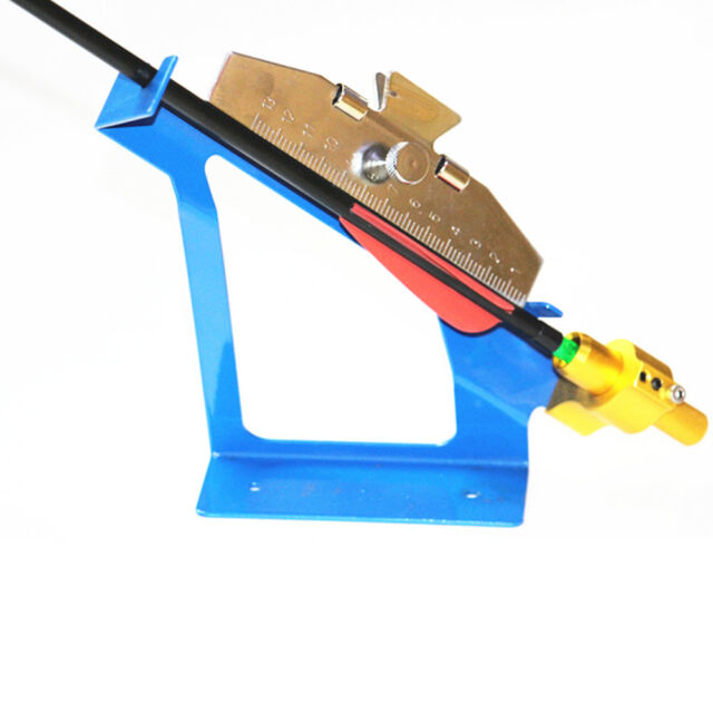 DIY Arrows Bonding Vanes Fletches Tool Adjustable Stainless Steel Jig Device