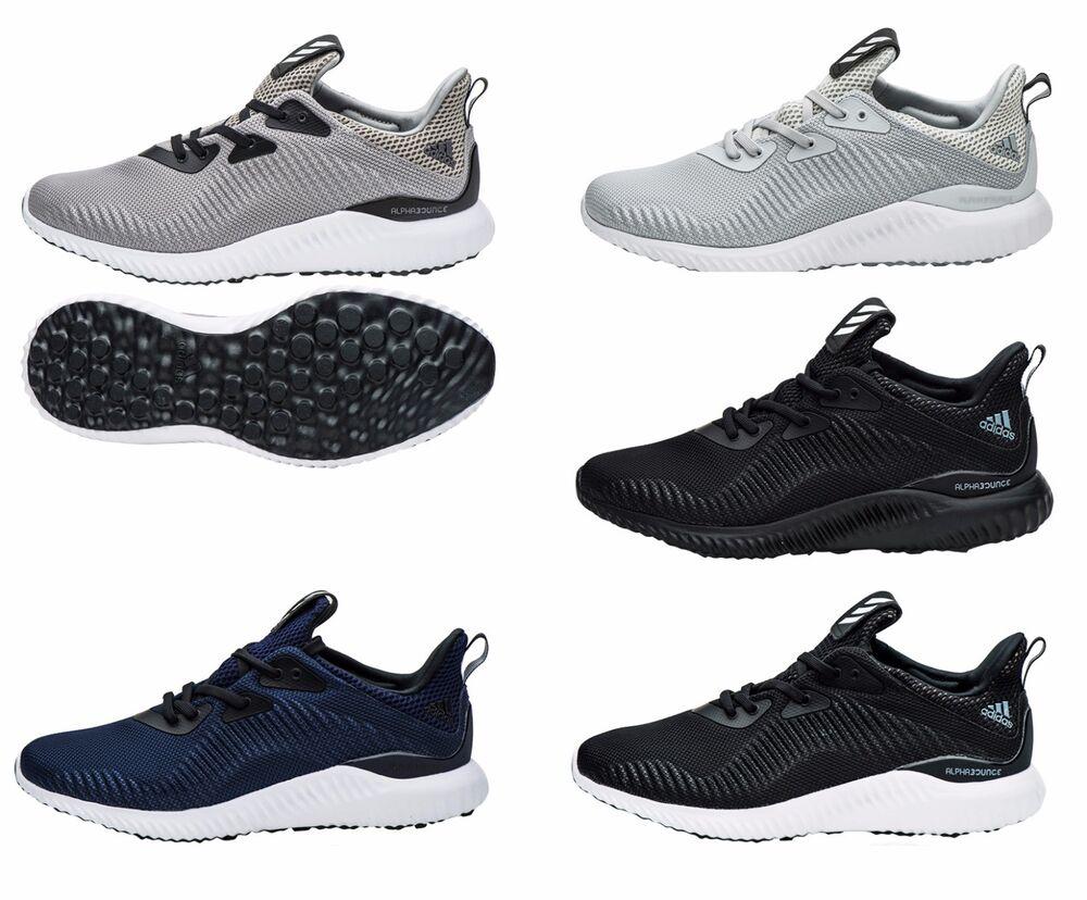 Adidas Alpha Bounce 1 BW0540 fonctionnement chaussures athlétique Sneakers courirners Bottes noir