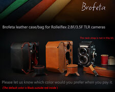 NEW! Brofeta leather bag case for Rolleiflex 2.8F 3.5F camera case/bag Handmade