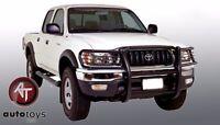 Fits 2001-2004 Toyota Tacoma Black Grille Guard Push Bar Brush Guard