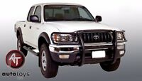 Fits 2001-2004 Toyota Tacoma Black Grille Guard Push Bar Brush Guard
