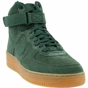 Nike Air Force 1 High 07 LV8 Suede Mens Shoes Vintage Green