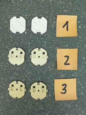 AnpassungsfäHig Alte Steckdosensicherungen Für Kinder Jeweils 2 Stück, 3 Sets Zur Auswahl üBerlegene Materialien