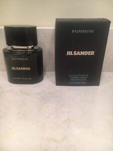 5cb64ca3d Jil Sander BACKGROUND Eau de Toilette Natural Spray for Men 2.5fl oz ...