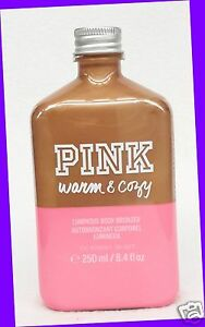 de206a2787 1 Victoria s Secret PINK WARM   COZY Luminous Body Bronzer Bottle ...