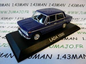BAL35H-Voiture-1-43-IXO-DEAGOSTINI-Balkans-LADA-1500-bleu