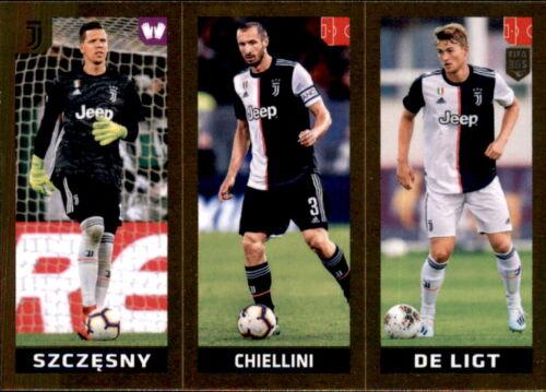 Chiellini Panini Fifa 365 2020 Sticker 244 Szczesny de Ligt