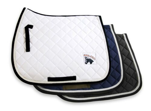GEE TAC HORSE SADDLE  CLOTH NUMNAH PAD NEW PRO 100/% COTTON COMFORT ALL SIZES