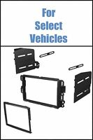 Double Din Stereo Radio Install Mount Dash Trim Car Kit For Select Gm Vehicles