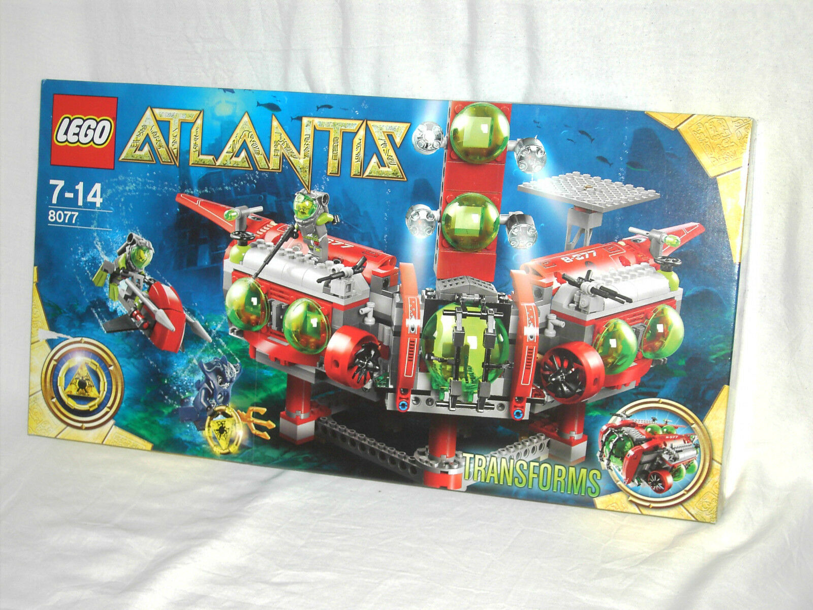 LEGO ATLANTIS 8077 - EXPLORATION HQ        NEW AND SEALED