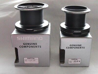 Shimano Baitrunner XTA Spare Spools Choose Medium or Big XTA Long Cast