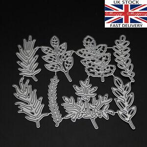 8-piece-leaf-set-leaves-die-set-metal-cutting-die-cutter-UK-seller-fast-posting