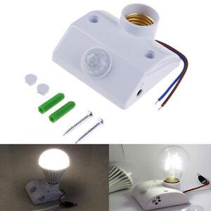 1Pc-AC110-240V-E27-Lamp-Holder-Base-PIR-Infrared-Bulb-Light-Holder-Sensor-Swi-YK