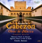 Antonio de Cabez¢n: Obras de M£sica (CD, Oct-2012, Brilliant Classics)