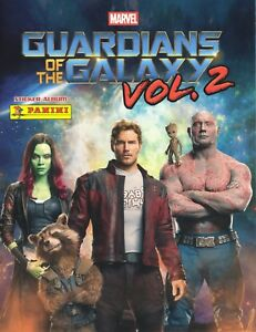 Panini GUARDIANS OF THE GALAXY Volume 2: job lot of 50 different stickers