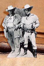 Wild Bill Hickok & Jingles TV Stars Guy Madison & Andy Devine Table top Standee