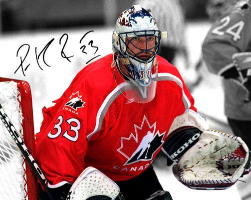 Patrick Roy Team Canada Hockey Goalie Signed Photo Autograph Reprint