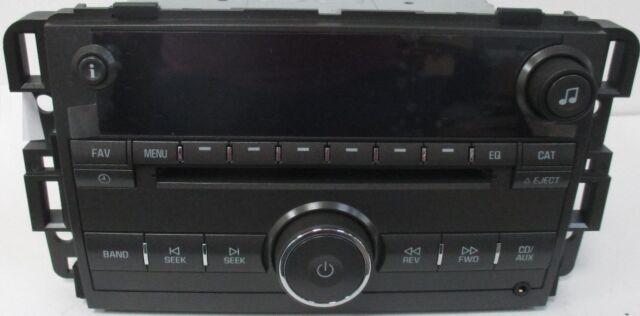 Lucerne Cd Mp3 Xm Ready Usb Radio Oem Factory Gm Delco Buick Stereo Rhebay: Gm Delco Radio Cd Usb At Gmaili.net