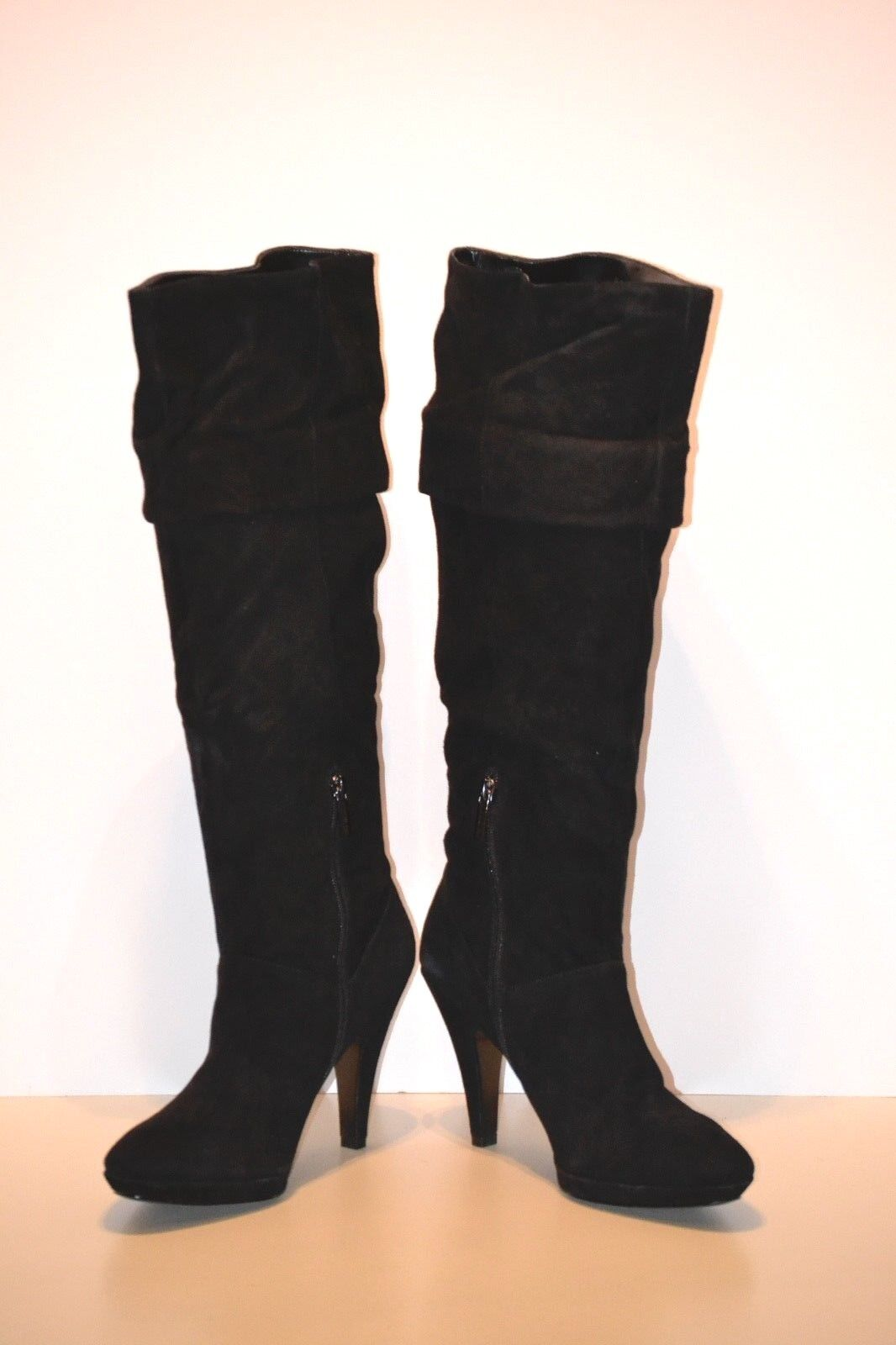 BANDOLINO BANDOLINO BANDOLINO Jess Women's Black Suede knee high Boots Size 9.5M a3b52c