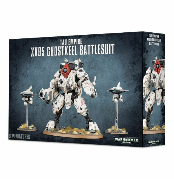 Games  Warhammer 40k  Tau Empire XV95 Ghostkeel Battlesuit