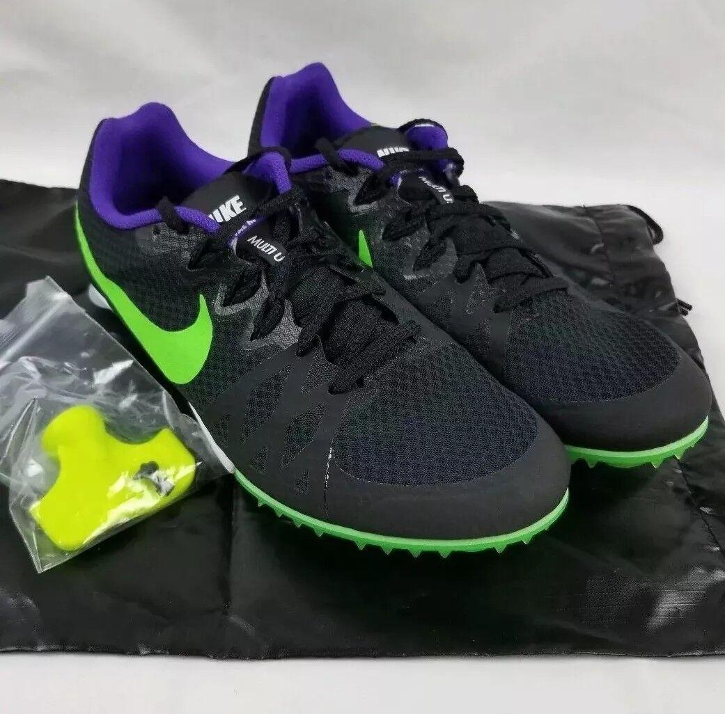 Nike Nike Nike zoom rivale m 8 tracce campo scarpe uomini sz 12 corse spike 806555-035 nero | Ad un prezzo accessibile  bfc887