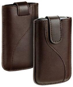 Design-Leder-Tasche-braun-f-Samsung-Galaxy-S2-i9100-SII