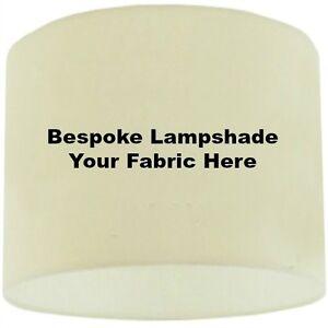 "12/"" BESPOKE LAMPSHADE HANDMADE IN UK WITH FABRIC //WALLPAPER"