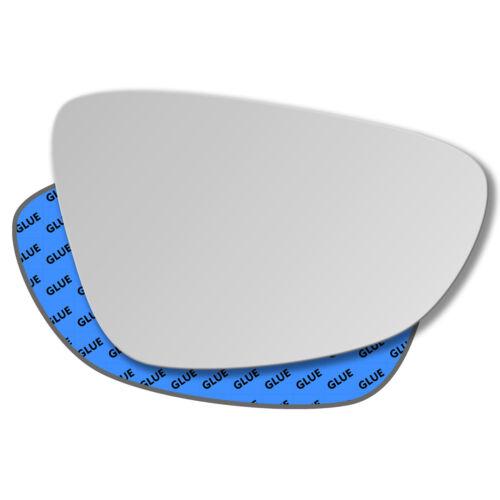 Derecha del pasajero cristal espejo exterior para Volkswagen Scirocco 2008-2019